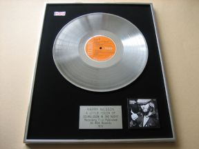 HARRY NILSSON - A LITTLE TOUCH OF SCHMILSSON PLATINUM LP PRESENTATION Disc